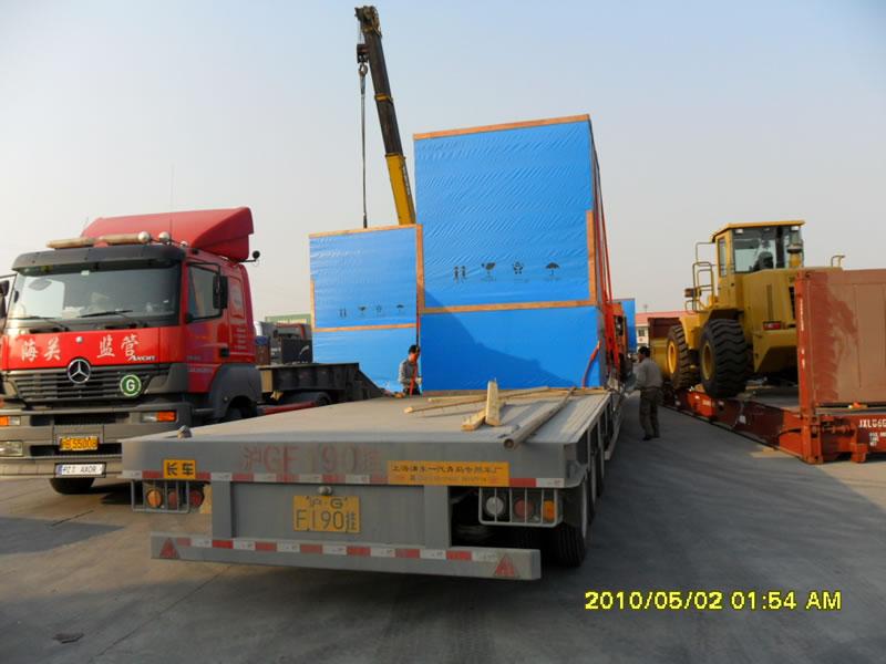 京东方气垫车运输