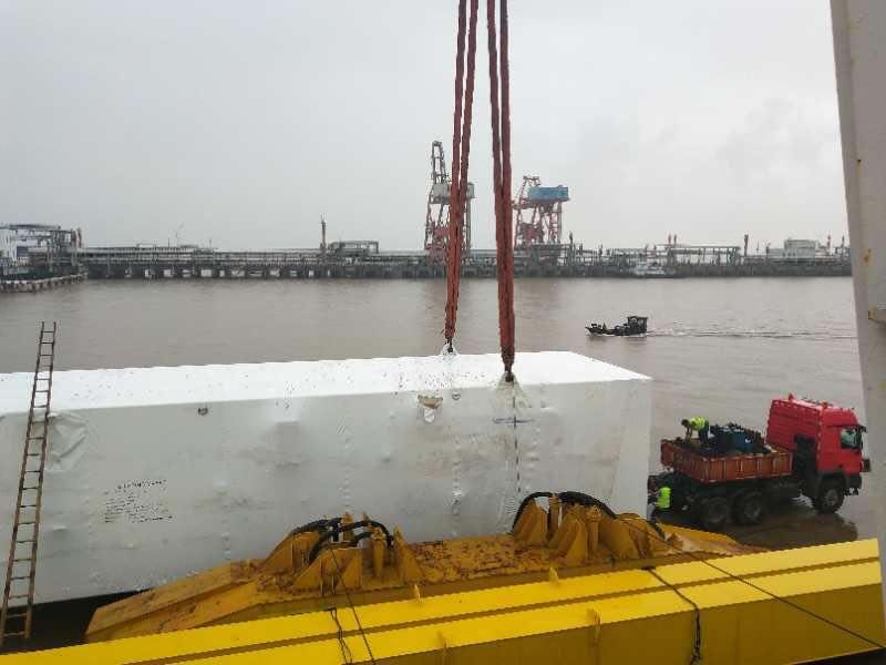 1300吨重大件项目安全顺利完工