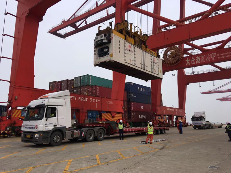 安徽投资300亿人民币液晶光电项目超精密设备气垫运输