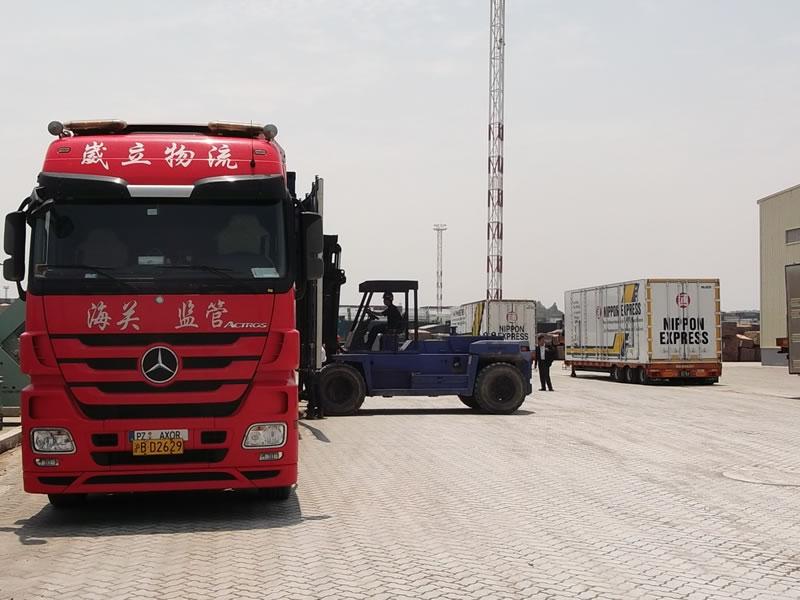 60000立方重大件精密仪器气垫车项目操作