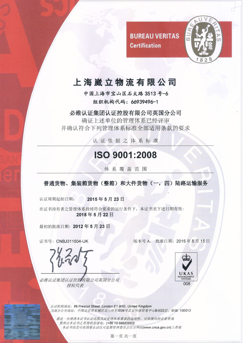 ISO 9001:2018